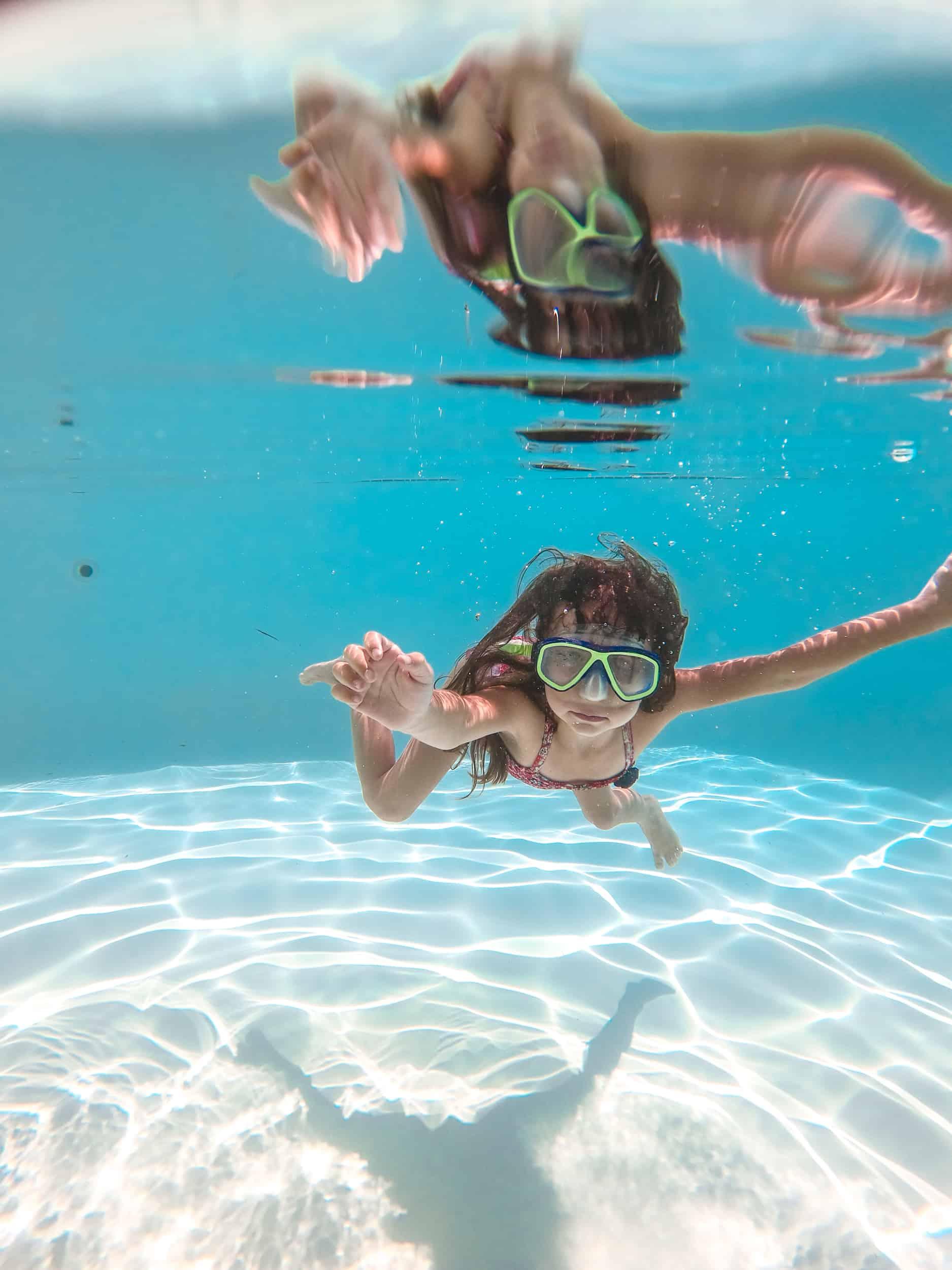 Lila Underwater
